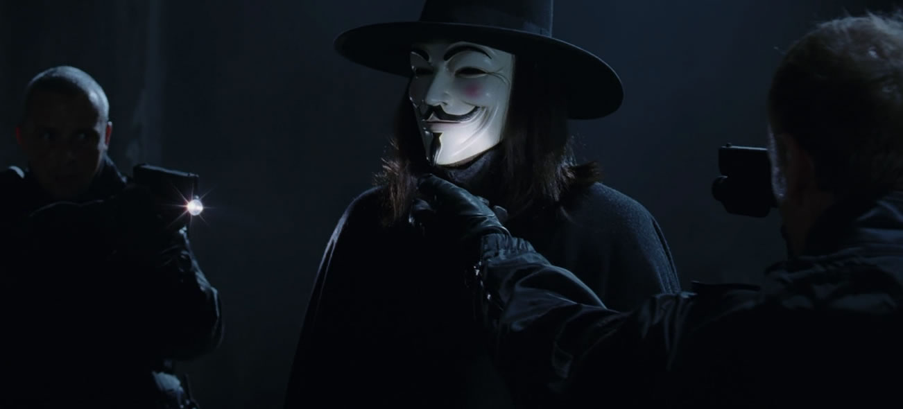 V значит вендетта / V for Vendetta (кадр из фильма)