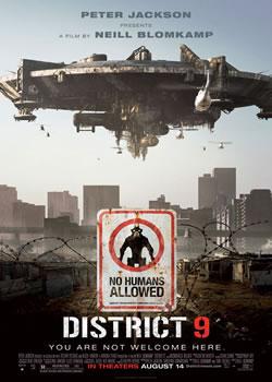 Район N9 / Distric 9 (плакат)