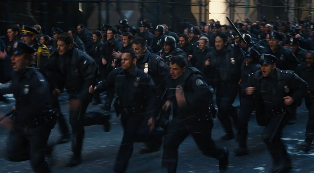 Бэтмен 3: Тёмный рыцарь - Возрождение легенды / Dark Knight Rises (кадр из фильма)