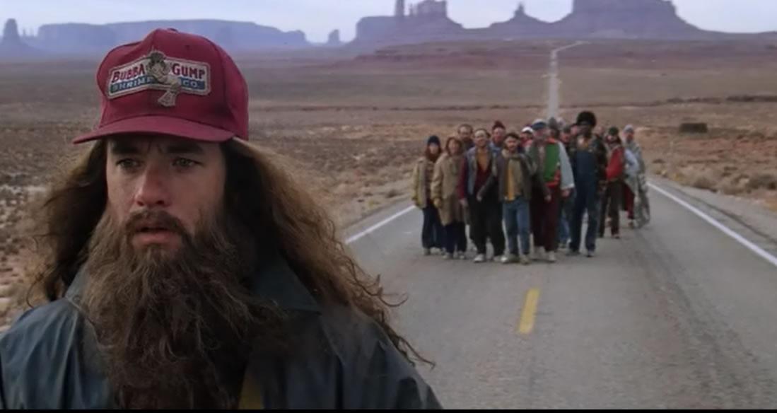 Форрест Гамп / Forrest Gump (кадр из фильма)