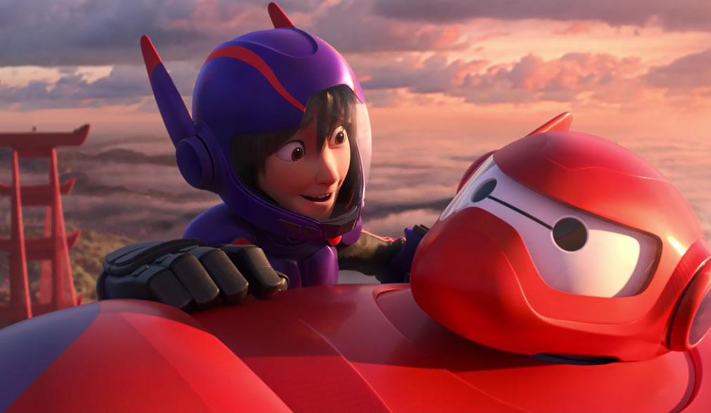 Город героев / Big hero 6 (кадр из фильма)