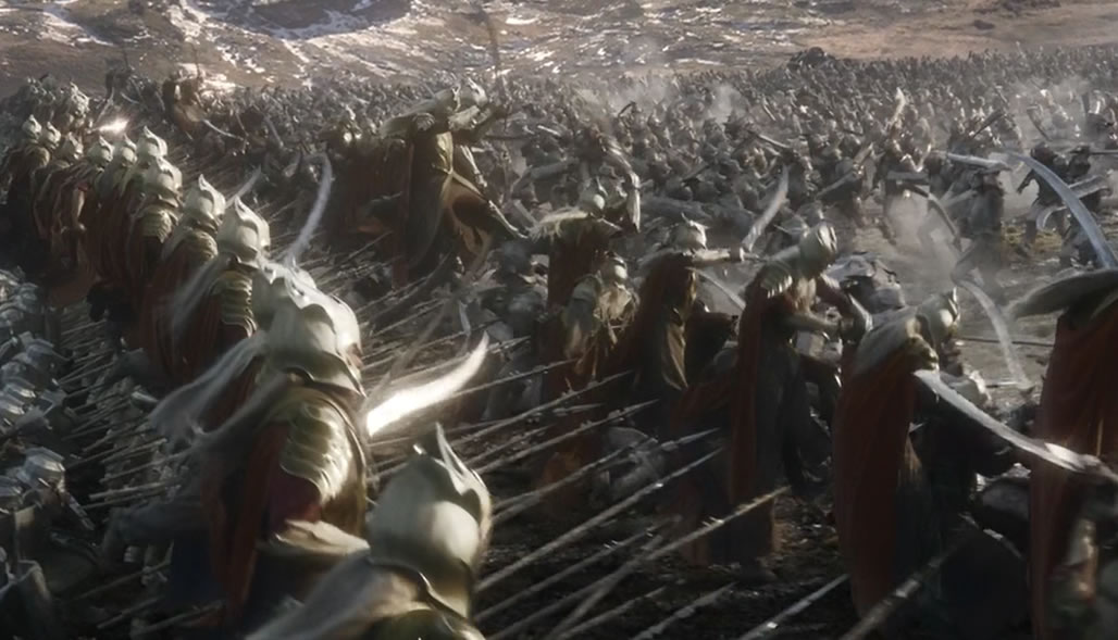 Хоббит 3: Битва пяти воинств / The Hobbit: The battle of the five armies (кадр из фильма)