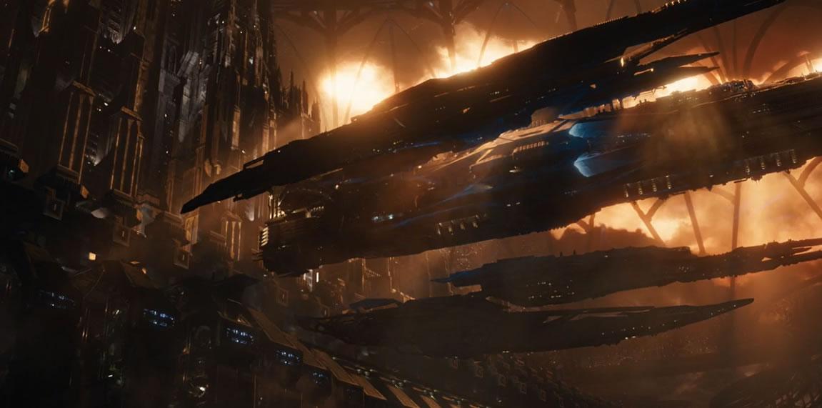 Восхождение Юпитер / Jupiter Ascending (кадр из фильма)