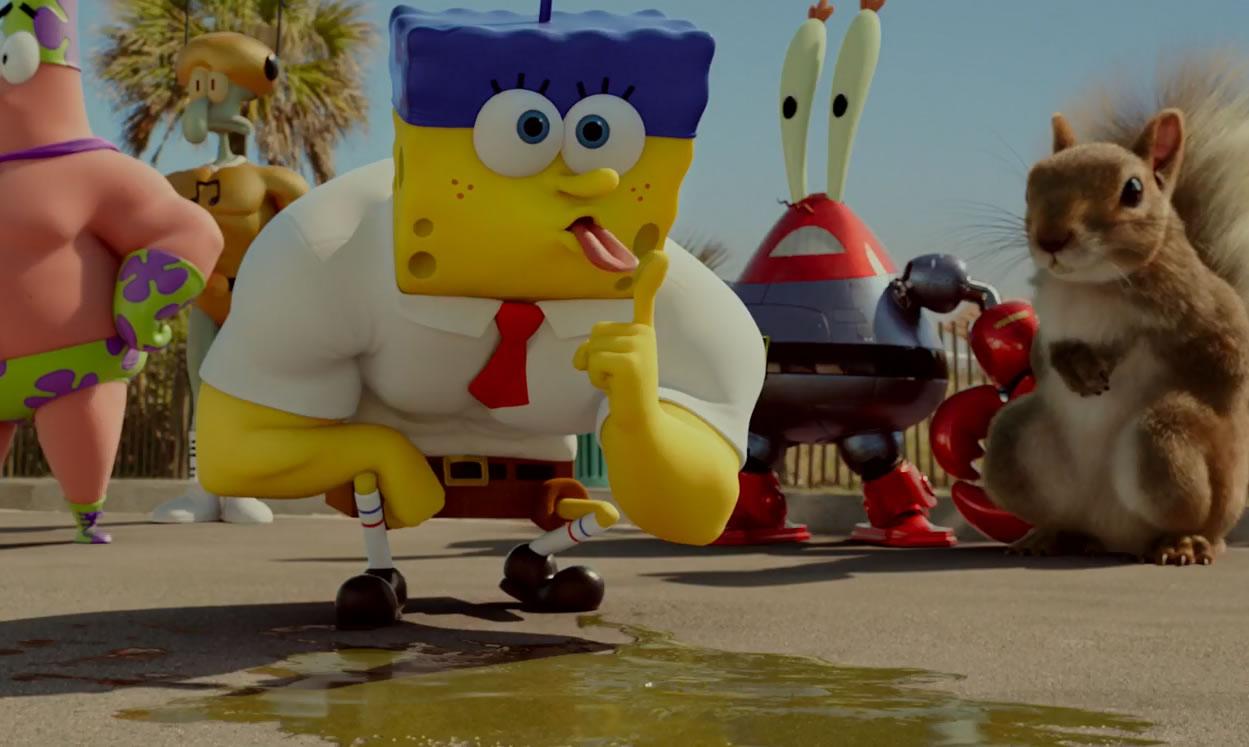 Губка Боб 3d / The SpongeBob movie: Sponge out of water (кадр из мультфильма)
