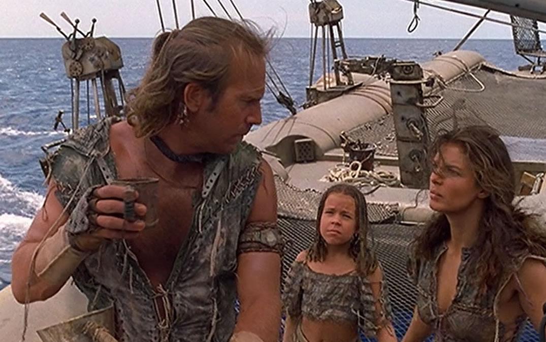 Водный мир / Waterworld (кадр из фильма)