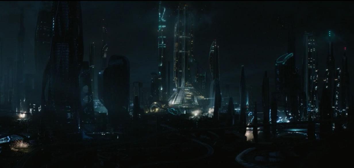Земля будущего / Tomorrowland (кадр из фильма)