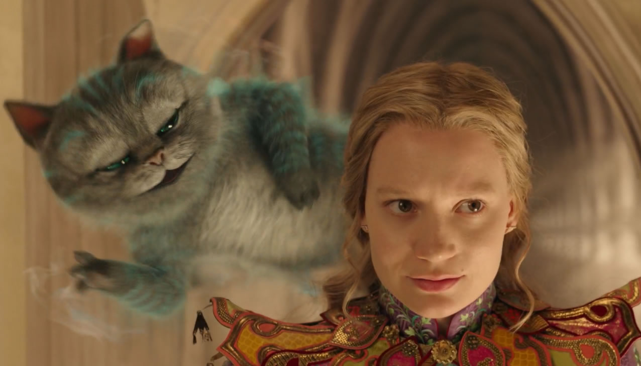Алиса в Зазеркалье - кадр